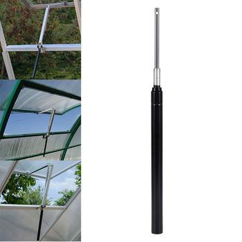 Nowy cieplarnianych automatycznego otwierania okien dostosować czujnik temperatury narzędzie do otwierania srebrny praktyczny biuro w domu okno narzędzia do otwierania tanie i dobre opinie green house replacement cylinder Automatyczne bram