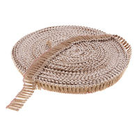 50 Meters Natural Burlap Ribbon Fabric Jute Crafts For Wedding Event Decor, Home DIY Decoration