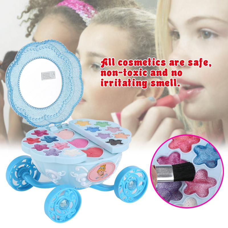 Beauty & Fashion Toys Disney Cosmetics Pumpkin Car Toy Princess Harmless Makeup Supplies Gifts For Children Kidsclear Water Wash Skillful Manufacture Toys & Hobbies