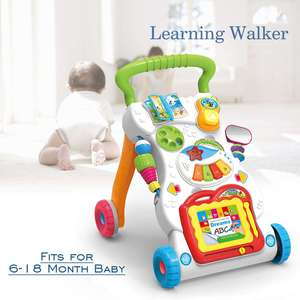 Baby Toys Learning Walker Musi