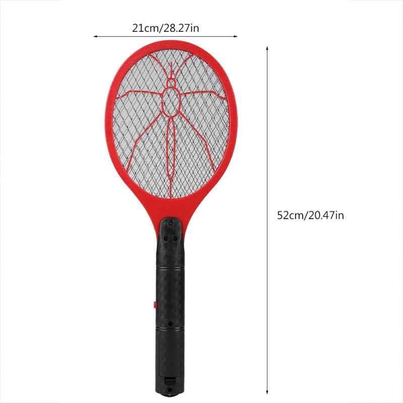 Анти Москитная Swatter аккумуляторная батарея мощность комаров убийца электрический мухи комары Swatter ракетка-электромухобойка средство от насекомых