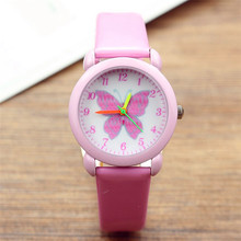 2019 new fashion little kids cartoon quartz watches lovely b