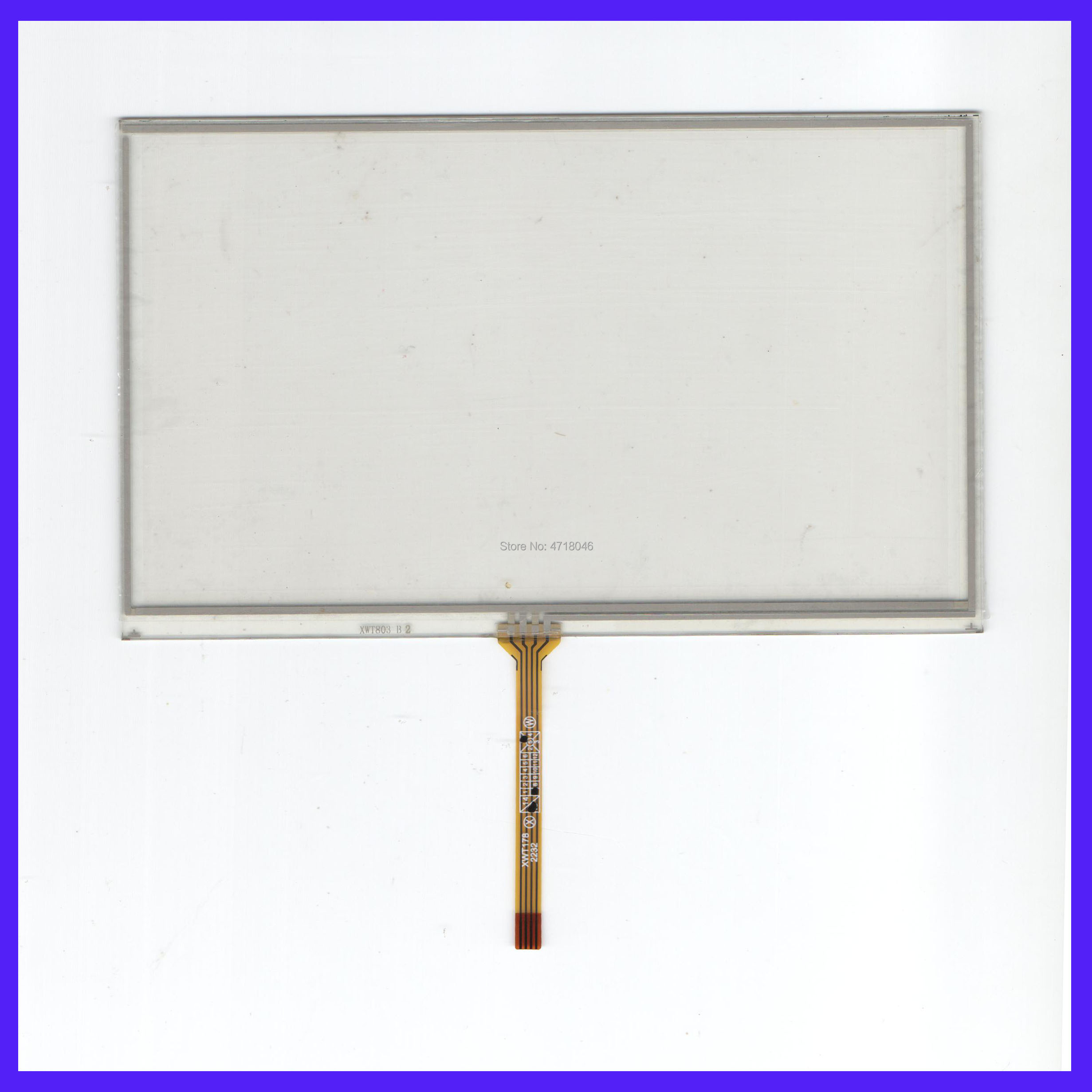 ZYS For 7018B 4lines Resistance Screen This Is Compatible Touchsensor