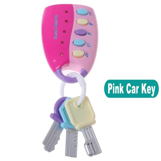 Téléphone télécommande Jouet Mobile TV  voiture clé début jouets éducatifs numéros électriques apprentissage Machine cadeaux pour nouveau-né 5