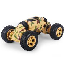 Toy Car Children Remote Control Car Four-Wheel Drive High-Speed Car Double-Sided Climbing Deformation Twist Stunt Car