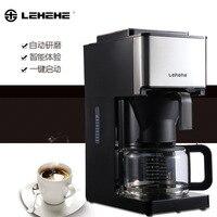 Moagem automática-Escorrendo Filtro Máquina de Café Americano Máquina de Café Casa