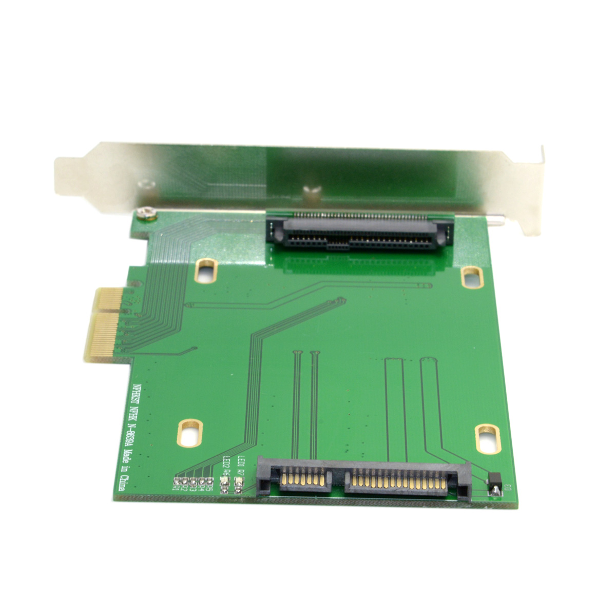 Xiwai PCI-E 3.0 X4 Lane To U.2 U2 Kit SFF-8639 Host Adapter For Intel Motherboard & 750 NVMe PCIe SSD