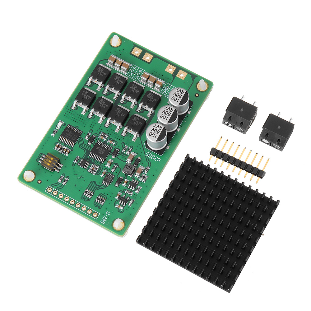 High Power MOS Tube DC Motor Driver Module L298N/H Bridge Drive / Support PWM PPM SignalHigh Power MOS Tube DC Motor Driver Module L298N/H Bridge Drive / Support PWM PPM Signal