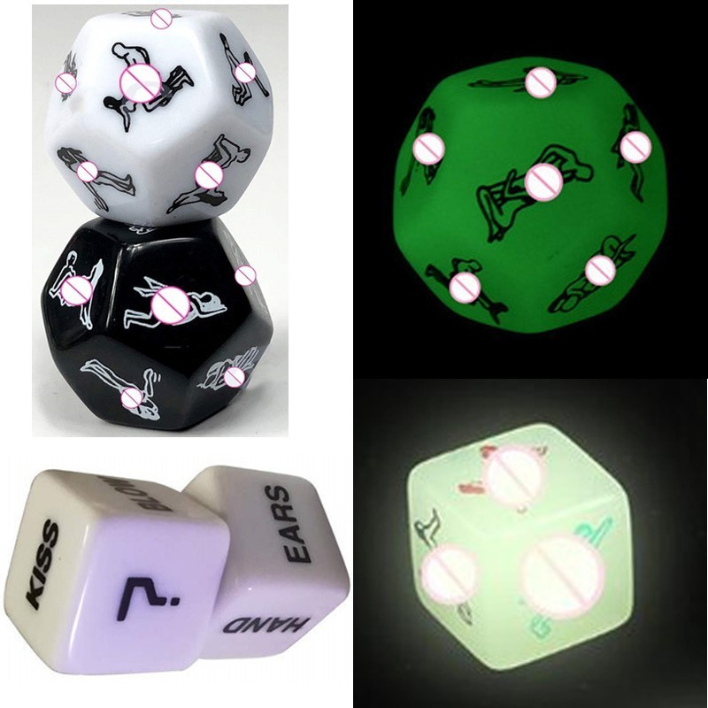 Funny Sex Dice Romance Love Humour Gambling Adult Games 12 Positions Sexual Posture Dice Erotic Games For Couples Playing