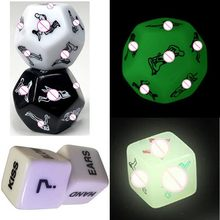 Funny Sex Dice Romance Love Humour Gambling Adult Games 12 Positions Sexual Posture Dice Erotic Games for Couples Playing(China)