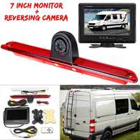 7 TFT LED Monitor + Reversing Backup Rear View Camera For Mercedes Benz for Dodge Sprinter for Volkswagen Crafter