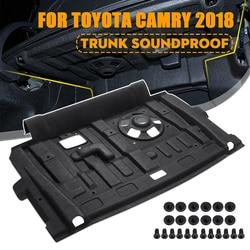 Auto Hinten Stamm Schallschutz Baumwolle Matte Sound Proof Trittschalldämmung Schutzhülle Matte Abdeckung für Toyota Camry 2018 Auto Zubehör