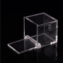 Transparent  Cover Candy Boxes Baby Shower Gifts Packing Boxes Wedding Favors Decoration Clear Candy Box 6x6cm