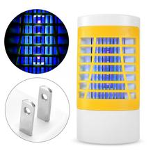 Outdoor US Plug AC110-220V Mosquito Killer LED Light Fly Bug Insect Zapper Trap Catcher Lamp Indoor mosquito repellent lamp electronic mosquito killer lamp smart photocatalyst light bug insect mosquito repellent repeller zapper with us plug adapter