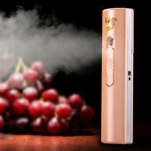 Mini USB Nano Mist Sprayer Facial Body Nebulizer Steamer Moisturizing Skin Care Tool Portable Face Spray Beauty Instrument цена
