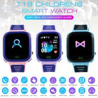 T18 Детские Смарт часы Водонепроницаемый умный анти потеря позиционирования вызова Многофункциональный Умный Браслет