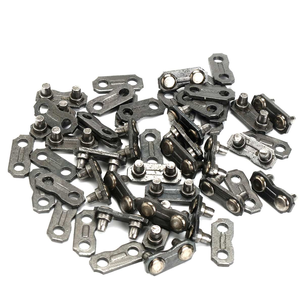 Hardware 24 Set 325 Modell Kettensäge Kette Link Kit Metall Kette Link Reparatur Preset Straps Ersetzen Teile Für Carlton/stih /husqvarna/oregon Heimwerker