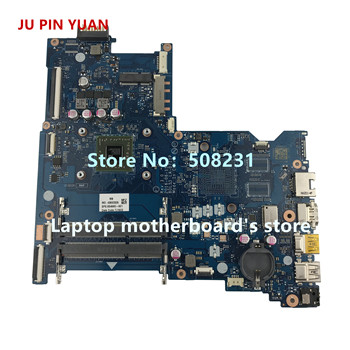 JU PIN YUAN 854965-601 854965-501 LA-D711P 854965-001 for HP 15-BA 15Z-BA 15-BA026CA Laptop motherboard A6-7310 fully Tested