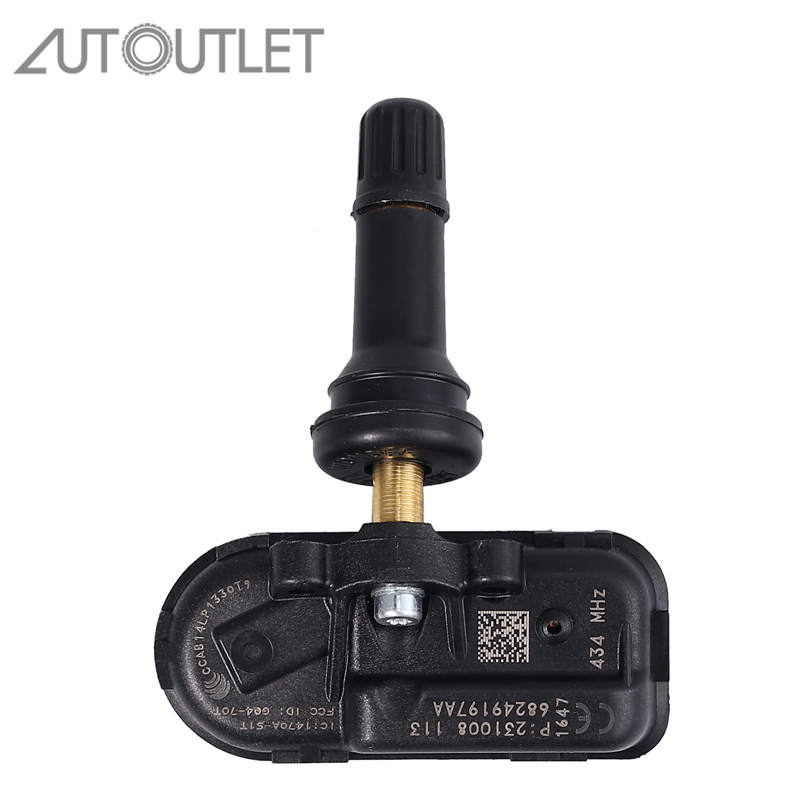 AUTOUTLET 68239720AA TPMS Tire Pressure Monitoring Sensor 434MHz For Dodge Ram 1500 2500 3500 Jeep 68249197AA