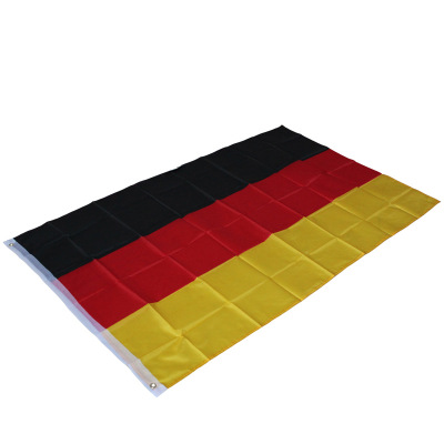 1pc 90 150cm Black Red Yellow De Deu German Deutschland Germany Flag For Decoration For World Cup Decoration Football Party in Flags Banners Accessories from Home Garden