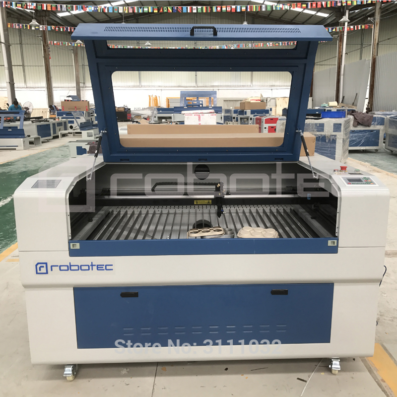 Robotec 100w Laser Cutting Machine 1390 Laser Cutter Machinery For Wood Acrylic Plexi Glass Cutting