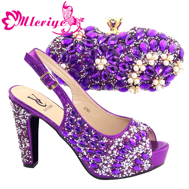 2019 Purple African shoe and bag set Italian shoe with matching bag best selling ladies matching shoe and bag 2783 shoe and bag2019 Purple African shoe and bag set Italian shoe with matching bag best selling ladies matching shoe and bag 2783 shoe and bag