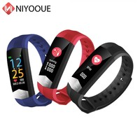 NIYOQUE Smart Band CD01 Color Screen Ecg Ppg Fit Blood Pressure Oxygen Hrv Heart Rate Meter Tracker Ip65 Fitness Bracelet