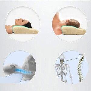 Image 4 - Schlaf Memory Foam Kissen Bett Orthopädische Kissen für Hals Schmerzen Ergonomische Kissen und Zurück Schwellen Seite Schwellen & Magen Sleeper