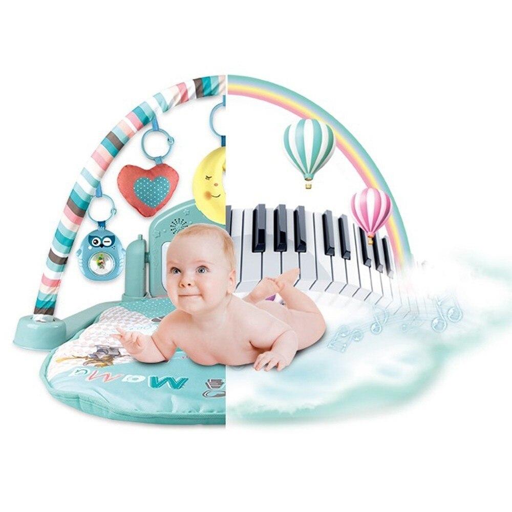 FUTUREMORE tapis de jeu pour bébé Gym nouveau-né cadeaux pour bébés Centre d'activité coup de pied Piano pour bébé exercice tapis de support éducatif