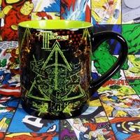 450ml Black Classic Harry Potter Magic School Hogwarts House Creative Coffee Mug Caneca Ceramic Milk Water Fruit Juice Tea Cup