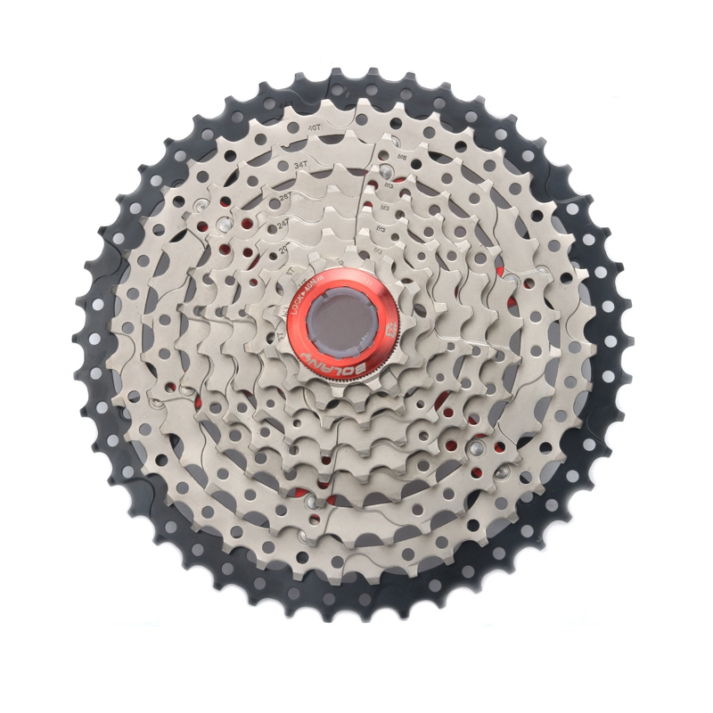 SEWS Bolany 9 27S 11 46T Single Speed Mountain Bikes Mtb Wide Ratio Bicycle Cassette Sprockets Parts