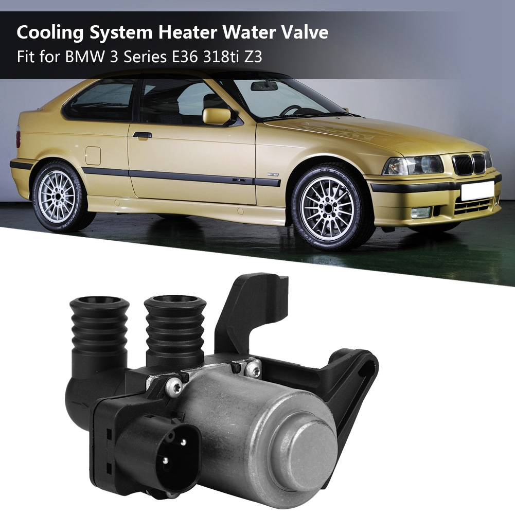 Car Cooling System Heater Water Valve Universal For BMW 3 Series E36 318ti Z3 64118375443 64114383988 64118369620 64118391418
