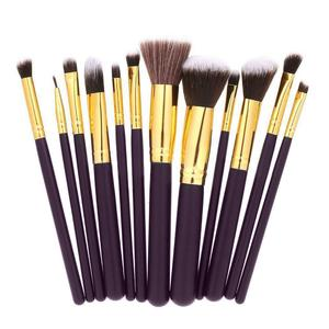 12Pcs Makeup Brushes Powder Fo