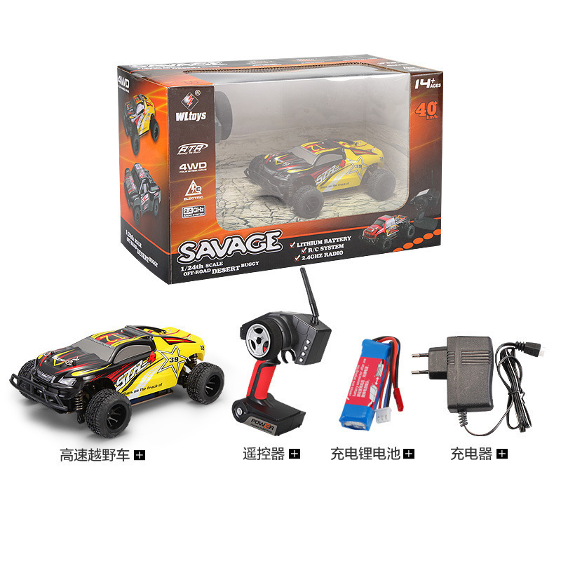 WLtoys A222 A232 1 24 2 4G Electric Brushed 4WD RTR RC Car Off road Buggy Xmas Gifts RC Toys Kid 39 s Toys Gift ZLRC in RC Cars from Toys amp Hobbies