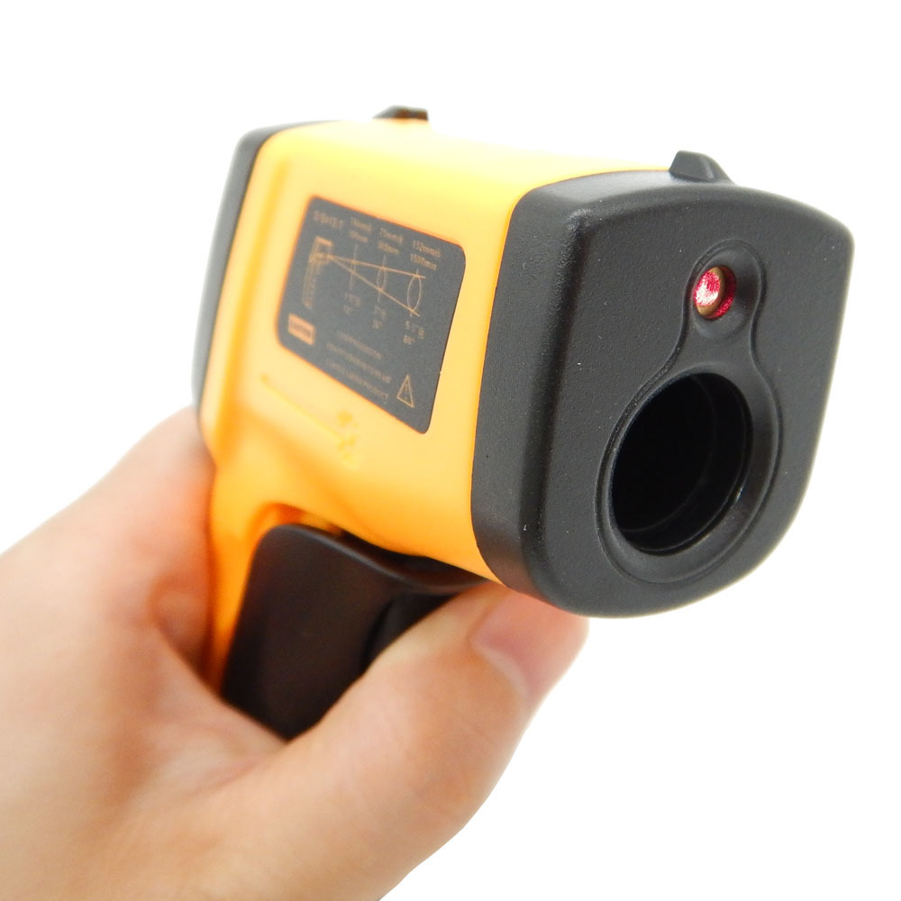 Image 5 - Digital Thermometer non contact Infrared temperature Pyrometer IR