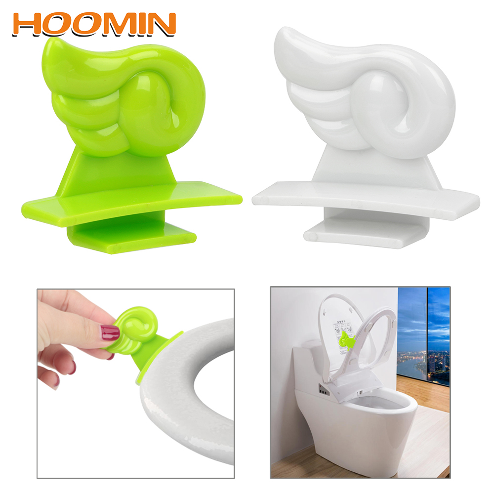 Toilet Seat Cover Lifter Pad Lift Raise The Clean Way Health Handle Toilet