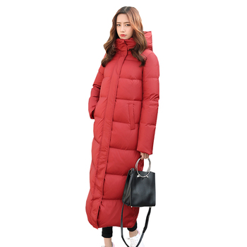 2018 New Women Winter Coat Jacket Warm Woman Parkas Female Overcoat High Quality Quilting Cotton Coat Winter Collection p603