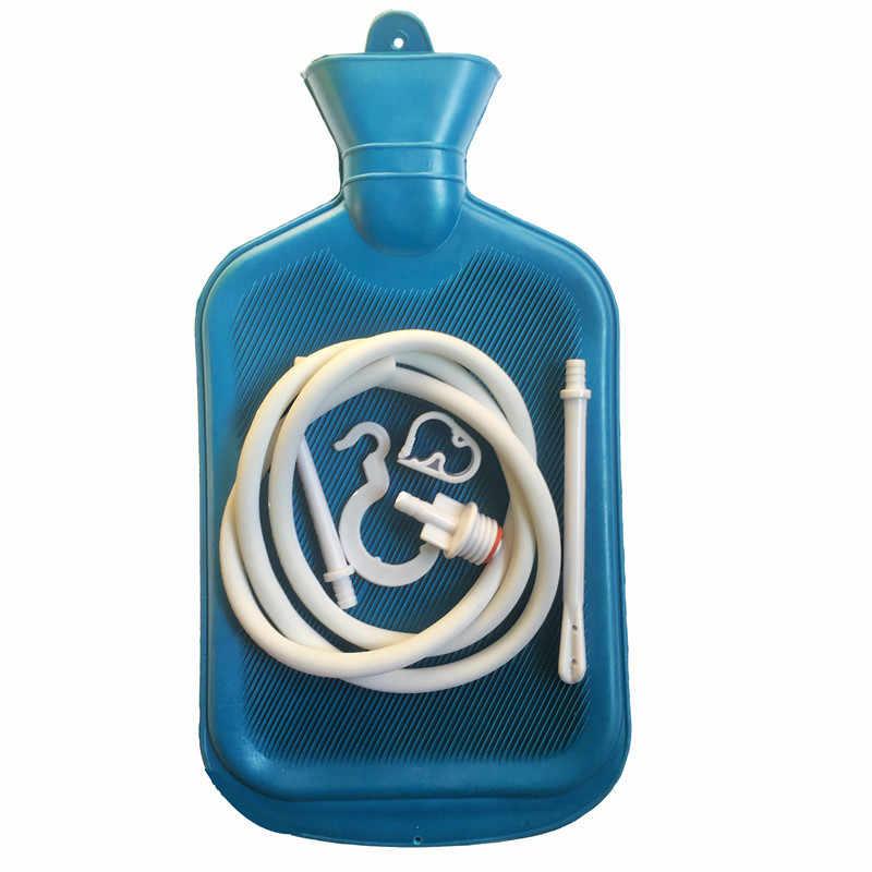 2000 мл большой пористый клизмы воды мешок душ Тип кишечный очиститель вагинальный моющийся Анальный секс игрушки для взрослых для мужчин и женщин