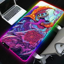 Sovawin 800x300 grand LED RGB éclairage Gaming tapis de souris XL Gamer tapis Grande souris tapis cs go Hyper bête pour PC ordinateur(China)