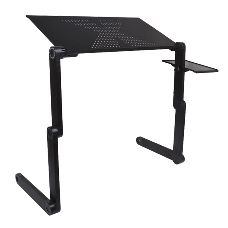Brand New High Quality Portable Adjustable Foldable Laptop Notebook PC Desk Table Vented Stand Bed Tray drop shipping practical portable adjustable foldable laptop notebook folding desk table vented stand bed tray for bed couch lawn