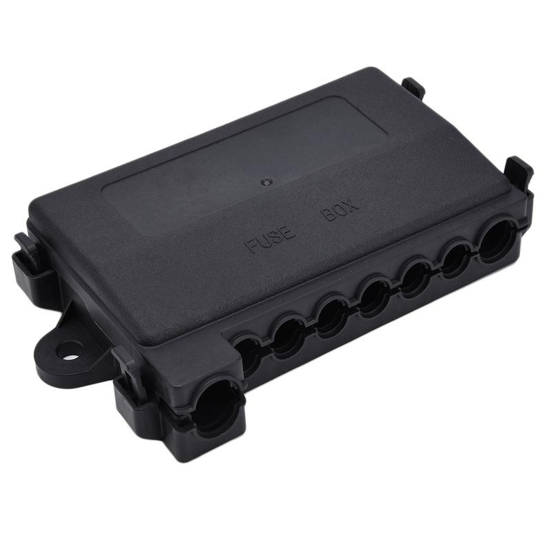 MIDI Multiway Fuse Box Fuse Block / Holder 12V 32V Plastic Cover Fuse Box Holde Work In ANS 30A-100A ANM40A-200AMIDI Multiway Fuse Box Fuse Block / Holder 12V 32V Plastic Cover Fuse Box Holde Work In ANS 30A-100A ANM40A-200A