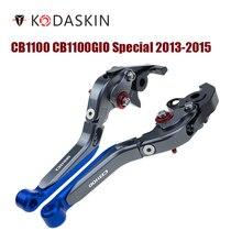 KODASKIN Folding Extendable Brake Clutch Levers for Honda CB1100  CB1100GIO Special 2013-2015 тапочки beppi beppi be099awfqhr8