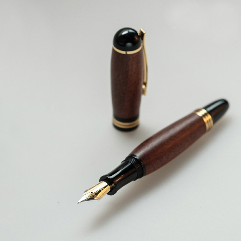 Deluxe Hand Made Antique Fountain Pen The Premier's Pen