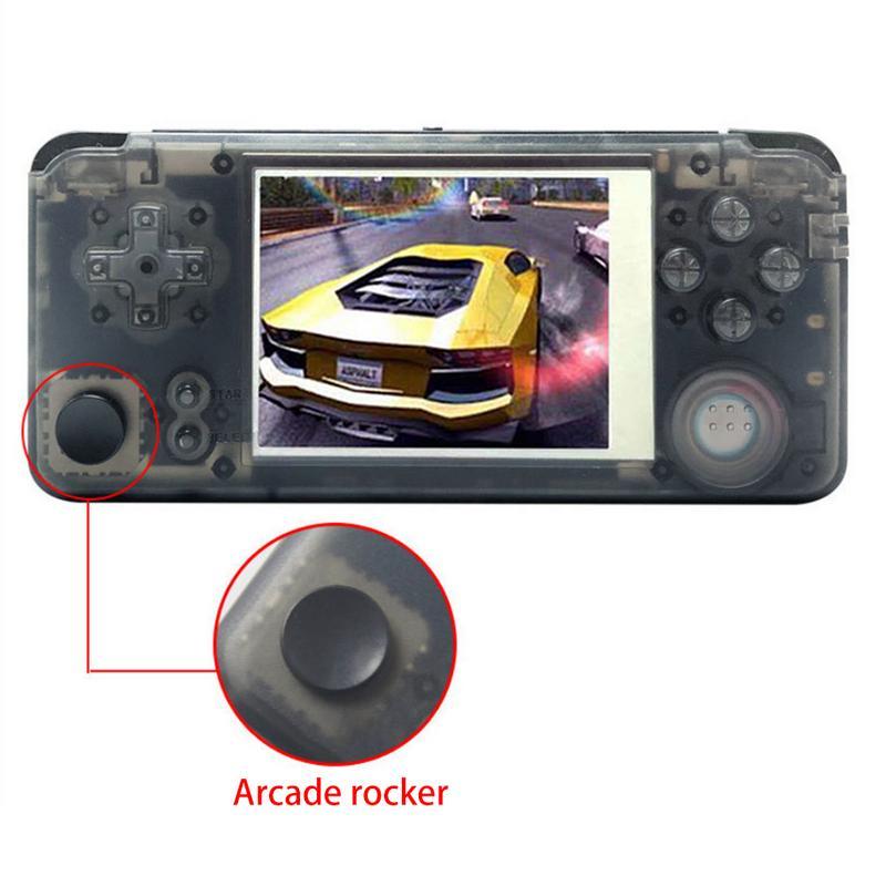 Voiture Portable Console de jeu de poche rétro divertissement outil adaptateur 16GB intégré 3000 classique jeux lecteur Arcade Rocker outil