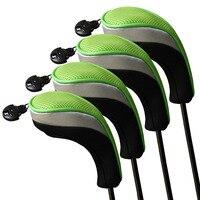 4 шт./компл. andux гольф аксессуары гибридный глава обложки сменный номер категории тег 3 4 5 7 х гольф-клуб охватывает