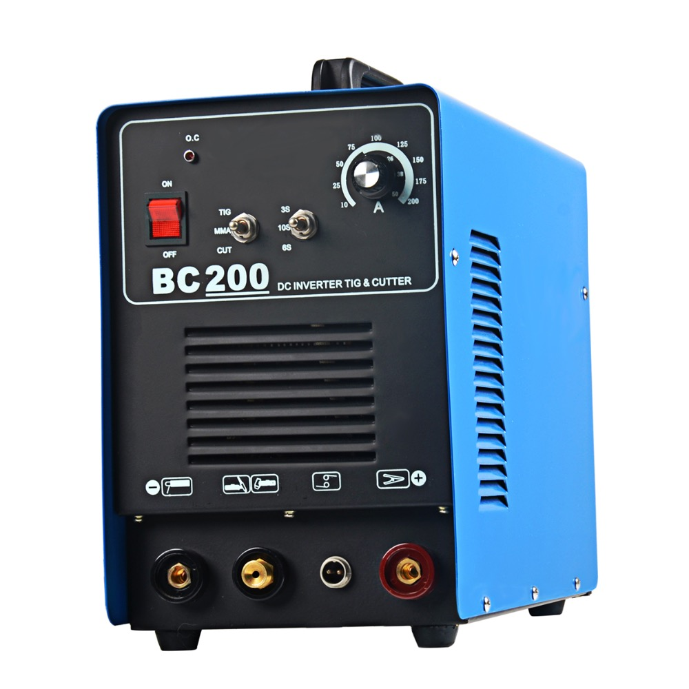 Rstar DC 200A Tig Schweißen 50A Plasma Cutter Weld 200A MMA Schweißer Multifunktions 3in1 schweißen maschine 220 v Spannung Europäischen stecker