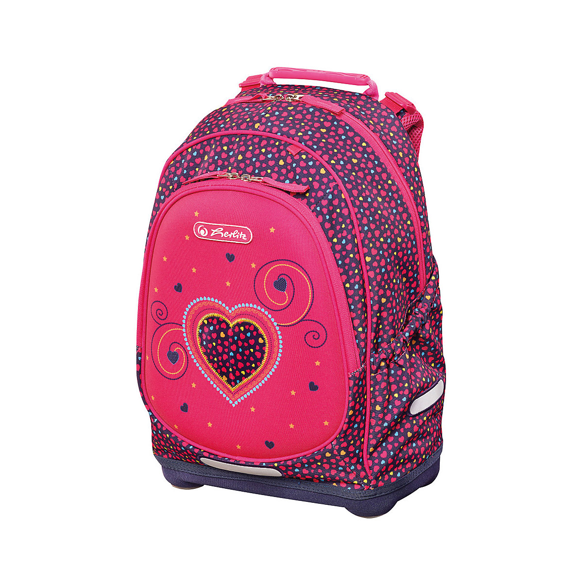 School Bags HERLITZ 11091897 schoolbag backpack orthopedic bag for boy and girl animals flowers new arrival hello kitty cartoon backpack female girl school bags primany schoolbag for girls in stock