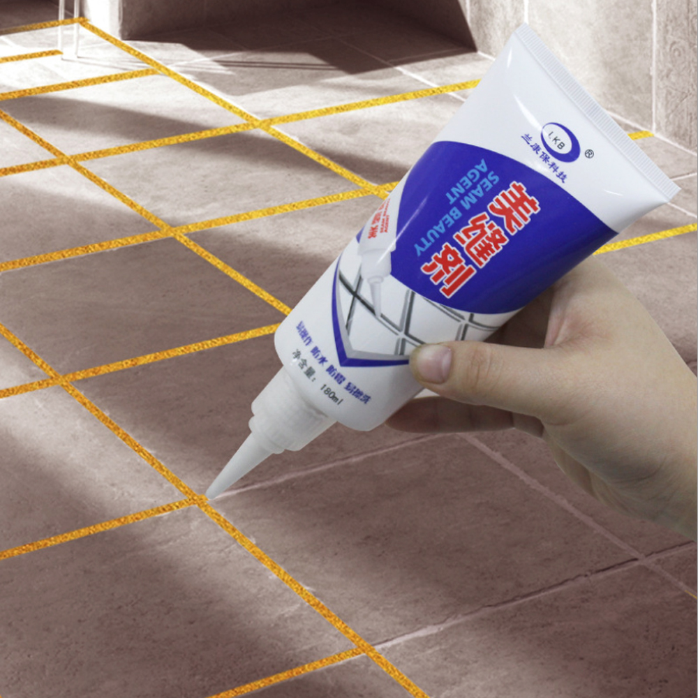 Us 6 07 40 Off Tile Grout Repair Pen Sealant Gap Filler Waterproof Mouldproof Filling Agents Wall Porcelain Floor Cleaning Tool 5 Colors In