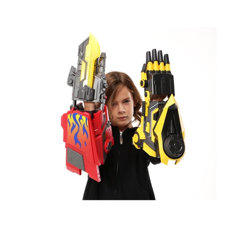 Pistolets à eau Transformation bras robotisé Cosplay Électrique balle en eau Guns Jouet pour Enfants Airsoft Guns