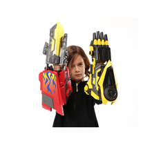 цена на Water Guns Transformation Robot Arm Cosplay Electric Water Bullet Guns Toy for Children Airsoft Guns